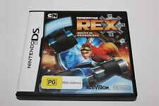 NINTENDO DS GENERATOR REX AGENT OF PROVIDENCE GAME COMPLETE