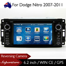 "6.2"" Car DVD GPS Navigation Head Unit Stereo Radio For Dodge Nitro 2007-2011"
