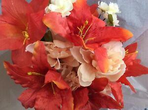 Bridal Bouquets Silk Wedding Flowers DIY BRIDAL CRAFTS WREATHS CORSAGE