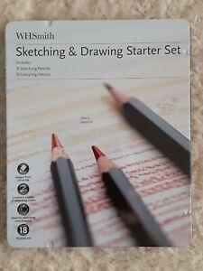 WHSMITH SKETCHING AND DRAWING STARTER SET