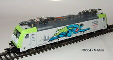 "Märklin 36634 E-Lok BR 185.2 ""Captrain GmbH"" MFX Sound Métal #neu dans neuf dans sa boîte #"