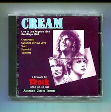 CREAM # LIVE IN LOS ANGELES SAN DIEGO 1968 # Curcio # CD Rock