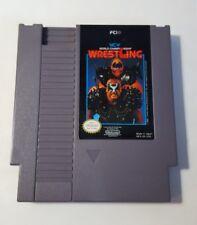 WCW WORLD CHAMPIONSHIP WRESTLING NES NINTENDO Video GAME Cartridge