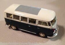 1963 VW Volkswagen T1 Classic Bus TwoTone White/Green Welly 1:24 Scale Model Van