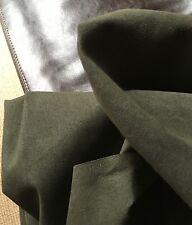 "Majilite Novasuede Fabric in Olive-54"" wide 5 Yard cut Medium Weight-"