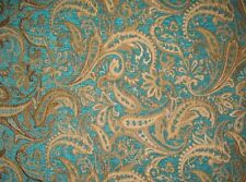 "Chenille  Upholstery Marina Paisley Drapery fabric by the yard  57"" Wide"