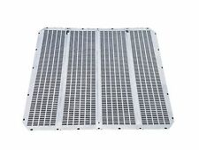 Peterbilt 379 Extended Hood - Grille Screen, Factory Style, Stainless Steel
