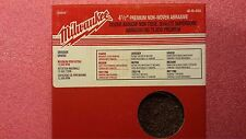 """Milwaukee 48-80-4004 4-1/2"""" Coarse Grit Surface Conditioning Disc (3 Pack)"""