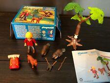 Playmobil Wild Life 5561 (Camera Man W/ Lynx) & 5562 (Beavers W/ Backpackers)