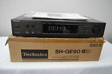 TECHNICS SH-GE90 EQUALIZZATORE GRAFICO SPECTRUM/cavo di alimentazione DSP + + MANUALE