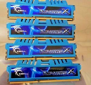 G Skill Ripjaws DDR3 2400 (8GB X 4) 32GB Kit Desktop Gaming Memory