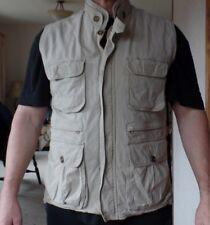 Woolrich  Vest 100% cotton fully Lined Mens Size M 100% cotton Khaki color