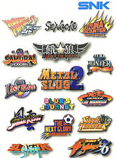 Ca-Phonecaseonline Snk Neo Geo X Card Set 15 Games Firmware 500A New