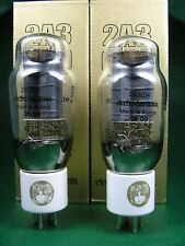 2 x 2A3 EH GOLD Trioden neu - factory matched pair new -> tube amp