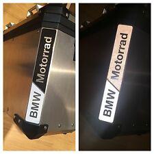 RIFRANGENTI REFLECTIVE BMW MOTORRAD BIANCO/NERO WHITE/BLACK -The1200stickerS