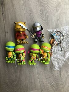 The Loyal Subjects TMNT Set Gamestop Exclusive Arcade Colors