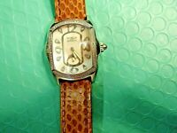 Invicta Diamond Lady Lupah Model #2333 Diamond Bezel Mop Watch Snakeskin Band
