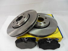 Renault Traffic 2 ALL MODELS 2001-2013 FRONT 2 BRAKE DISCS AND PADS SET 306MM