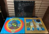 LEON REDBONE Vinyl Record LP Lot (3) On The Track Double Time Champagne Charlie