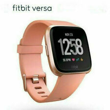 New Fitbit Versa Tracker/Smart Built-in Battery Watch(Pink)