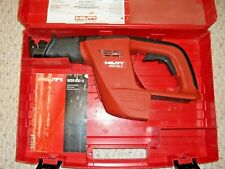 Hilti Wsr 650 A 24v Cordless Reciprocating Saw Tool Only With Case Free Ship