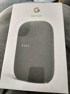 Google Nest Audio Charcoal Smart Speaker - Brand New Sealed