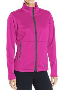 2017 NWT Womens UA Under Armour CGI Outdoor Softershell Jacket S Small sx901