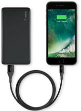 Belkin 5000mAh Portable Ultra Thin Battery Charger - Black - New!!! (CR)
