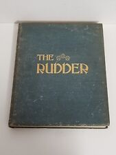 Antique Bound The Rudder Magazine Boat Yacht Sailing XXII July - Dec 1909