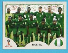RUSSIA 2018 World Cup-PANINI-Figurina n.321-SQUADRA/TEAM-NIGERIA-ROSA-PINK BACK