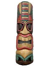 "20"" Tiki Mask Hawaiian Polynesian Wall Art Island Home Decor Tribal Bar Tropical"