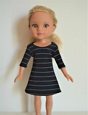 """Handmade Doll Clothes Dress fits 14"""" Hearts for Hearts H4H G2G Dolls Handcraft J"""