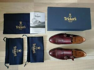TRICKER'S Royal Double Monk Leavenworth MADE IN ENGLAND Gr. 44 (UK 10) UVP 500€!