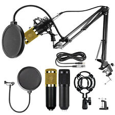 Condenser Bm-800 Microphone Kit Studio Pro Audio Recording Arm Stand Shock Mount