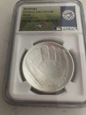 2014 Baseball HOF HALL FAME  Silver $1  NGC MS70 Toronto Blue Jays