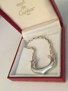 Must de Cartier Keyring silver 925 Box Gift Bag