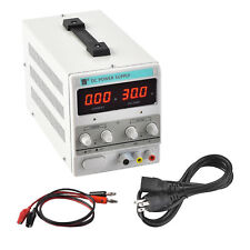 30V 10A Adjustable Variable Digital DC Regulated Power Supply Lab Grade w/ Cable