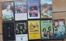 Job Lot of Vintage Rock, Folk & Pop Tape Cassettes x 9