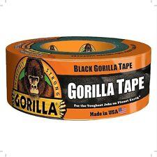 Gorilla Glue Black Gorilla Tape, 12 yd, 1 ea