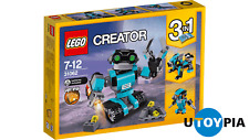 LEGO CREATOR 31062 - Robo Explorer [3 IN 1 MODEL WITH LIGHT BRICK]
