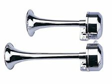 Marine 12V Electric 9'' & 11'' Trumpets Horns Pair Set- Boat & RV - Five Oceans