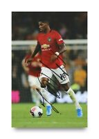 BENT Marcus Rashford Signed 6x4 Photo Manchester United England Autograph + COA