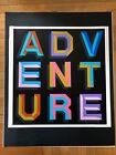 Ben Eine Adventure Screen Print 2013 Printers Proof Rare Banksy