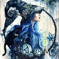 Blue Witch, Cross Stitch Pattern