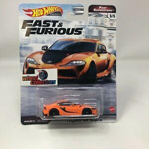 Toyota GR Supra * Hot Wheels Fast & Furious FAST SUPERSTARS Case M