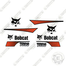 Bobcat T590 Decal Kit Skid Steer Curved Stripes (Partial Kit)
