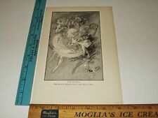 Rare Antique 1890 Music & Dance Engraved E Duplessis from Jules Cheret Art Print