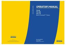 NEW HOLLAND T5.105 ELECTRO COMMAND TRACTOR OPERATORS MANUAL