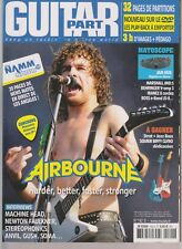 GUITAR PART N°192 + DVD AIRBOURNE / MACHINE HEAD / STEREOPHONICS / ANVIL