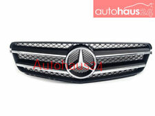 MERCEDES-BENZ C-CLASS W204 COUPE FRONT HOOD GRILLE C250 C350 NEW BLACK GENUINE
